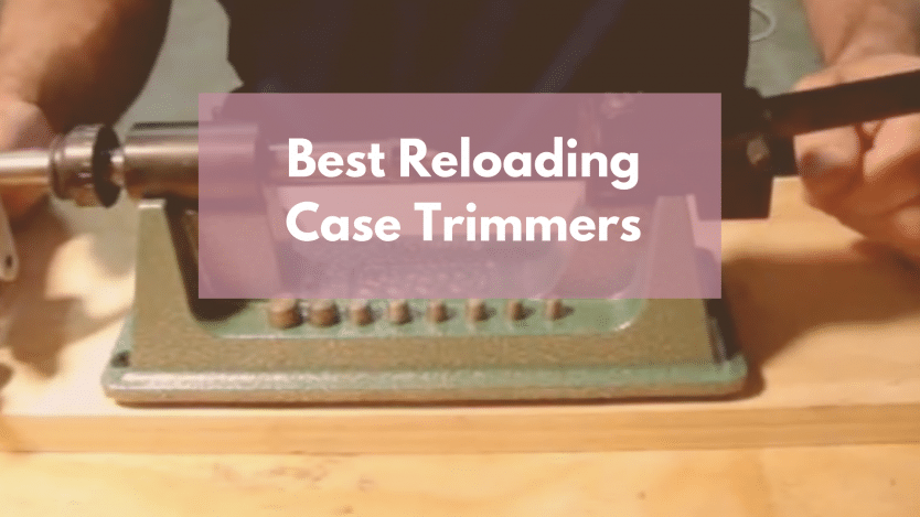 Image of RCBS Case Trimmer With caption best reloading case trimmers
