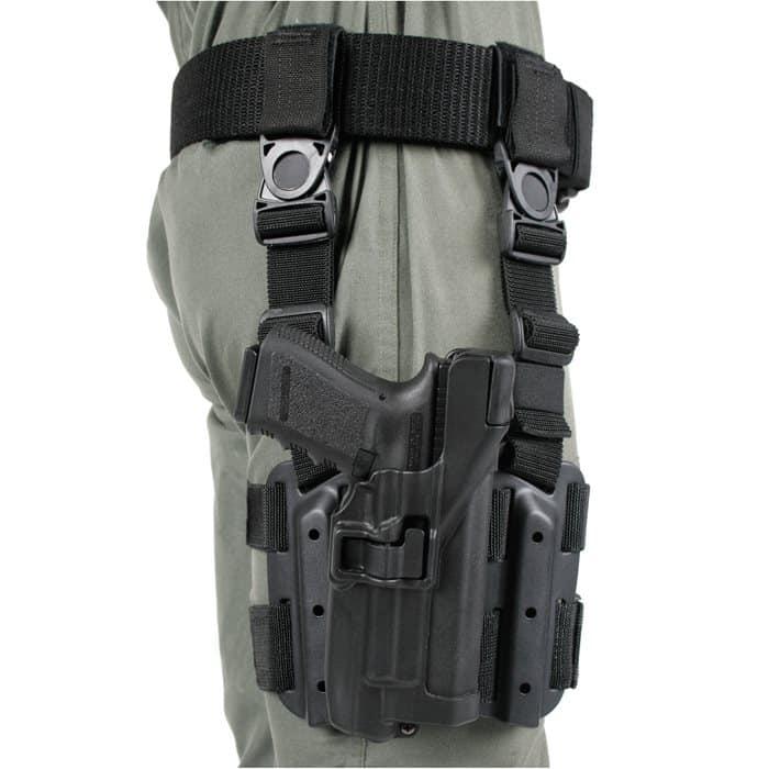 Blackhawk's Omega VI is the best drop leg holster