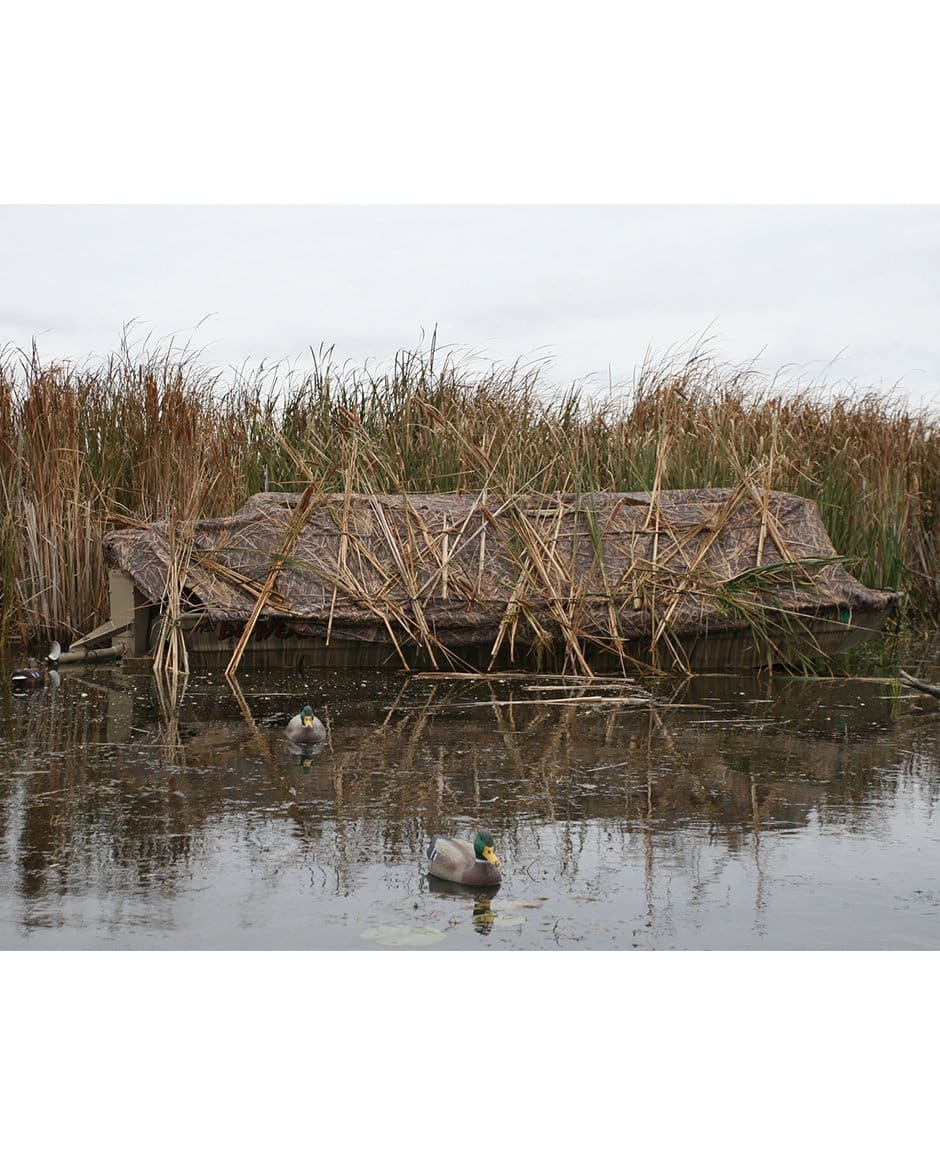 diy portable boats for new duck in page kayak wildfowl hiding corn blind flooded blinds of best